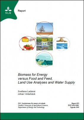 Biomass for energy