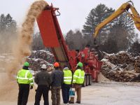 Morbark launches sawdust quick switch | Canadian Biomass