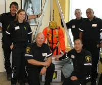Some of Safetyscope's rescuers & instructors