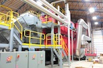 Compte-Fournier Biomass Heating System
