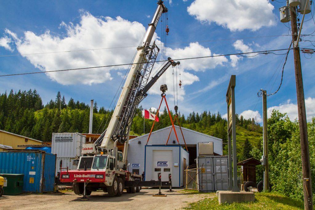 Oujé-Bougoumou installs Canada's largest containerized wood biomass boiler
