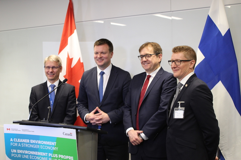 Leading by example: Finland, Canada collaborate to build a circular economy