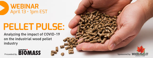Webinar: How will  COVID-19 impact the industrial wood pellet industry?