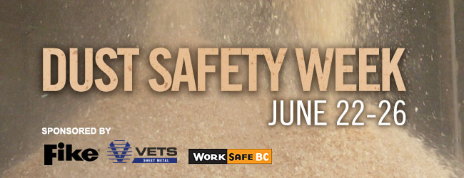 Dust Safety Week 2020 is approaching!
